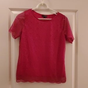 NWT The Limited S/S Lace Blouse